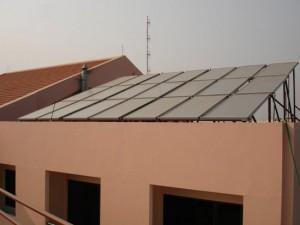 מערכת מרכזית אמישראגז סולאר בנין מגורים
